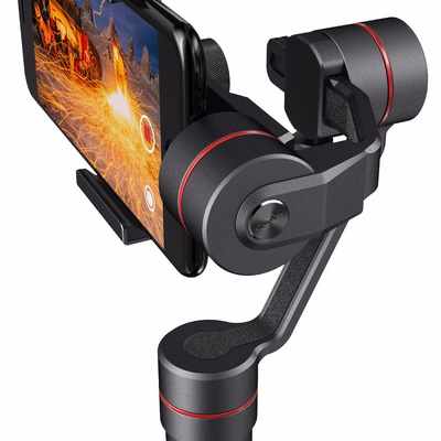 Zhiyun Smooth III Smooth3 3 Axis Handheld Gimbal Camera Mount for Smartphones, Such as iPhone 7, 6 Plus, 6, 5S, 5C, Samsung S6, S5, S4, S3, Note 4, 3, and more