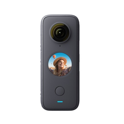 Insta360 One X2 Sport Panoramic Action Camera 5.7K Video 10M Waterproof FlowState Stabilization 1630mAh Battery Action Camera
