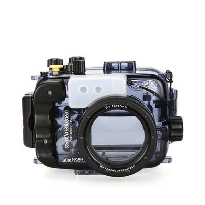 SeaFrogs 60m/195ft Waterproof Underwater Camera Housing Case for A6000 A6300 A6500 Can Be Used With 16-50mm Lens