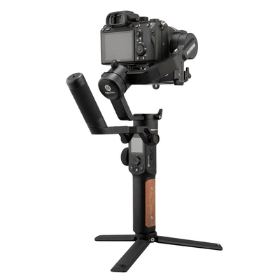 Feiyu AK2000 S Ak2000S Advanced Kit 3 Axis handheld Gimbal Stabilizer for Sony a9 a7 ii a6500 Series Canon 5D Panasonic GH5 GH4 Nikon D850 Mirrorless and DSLR Digital Camera, Smart Touch Panel