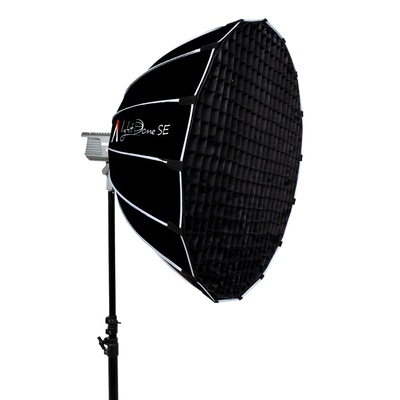 "Aputure Light Dome SE 33.5"" Large Aperture With Compact Depth Softbox, Bowens Mount Lighting Modifier For Content Creation,  Interviews, And Portrait Photography"