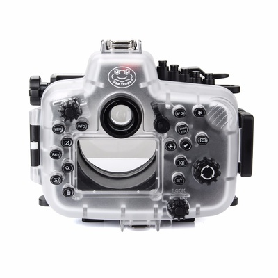 SeaFrogs 5D4 5D IV 40M 130ft Diving Waterproof Housing Case for Canon 5D III IV 5D3 5D4 Supports 24-105mm Lens