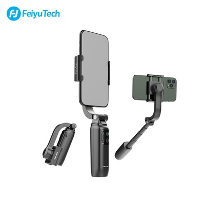 Feiyu Vimble One Single Axis 18cm Extendable & Foldable Smartphone Gimbal Stabilizer, ideal tool for You tube video TikTok Live Streaming