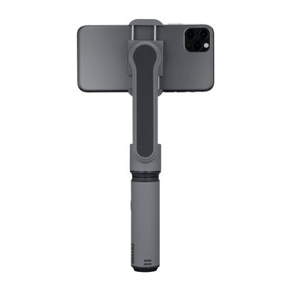 Zhiyun Smooth X  2- Axis Smartphone gimbal Stabilizer for iPhone 11 Pro Xs Max Xr X 8 Plus 7 6 SE Android Smartphone Samsung Galaxy Note10 S10-Grey