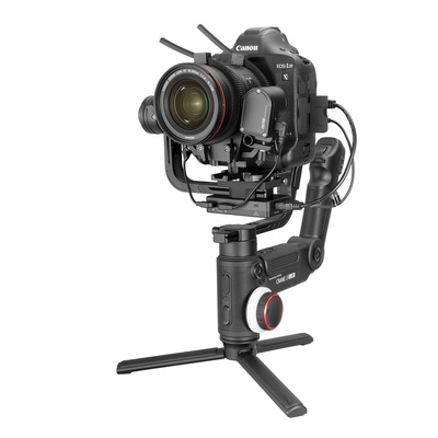 Zhiyun Crane 3 Lab quick replace plate for Canon 1DX and 1DX Mark 2, with Manfrotto universal standard and double adjustable system