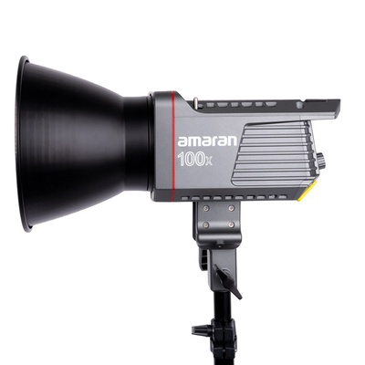 Amaran 100X Bowen's mount COB Tunable Color Temperature (2700k-6500K)  Video light Made by Aputure