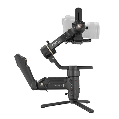 Zhiyun CRANE 3S 3-axis Handheld Gimbal DSLR Camera stabilizer forCanon EOS 1DX Cinema EOS  Blackmagic Pocket Sony FS & FX series Red Digital Cinema