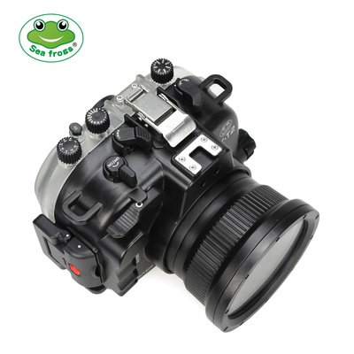 Seafrogs 40m 130ft Underwater Camera Housing Case for Fujifilm X-T2 (16-50/18-55mm) Camera