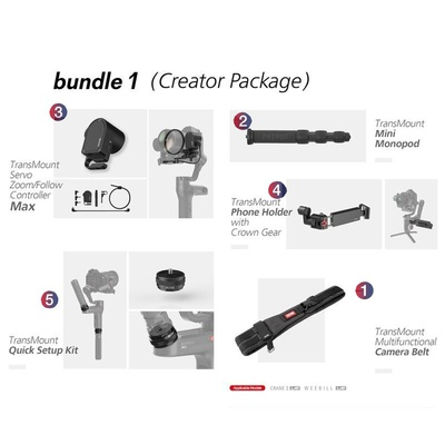 Zhiyun WEEBILL LAB Accessory Kit for Creator Package