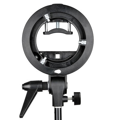 Godox S-type S-C Bracket Comet Mount Holder for Speedlite Flash Snoot Softbox Honeycomb