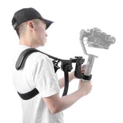 Zhiyun Crane 2 Shoulder Support Bracket Ergonomic Design Effort-Saving Operation 5-Second Quick Installation Keeping Hands Free Flexible Shoulder Strap