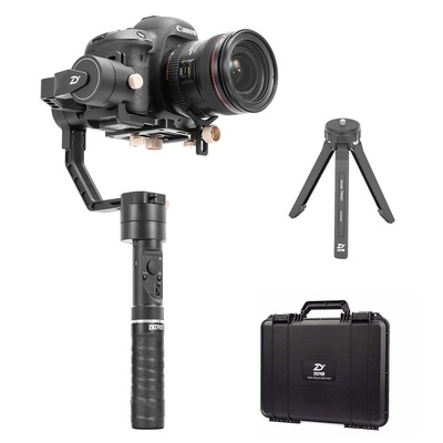 Zhiyun Crane Plus (Crane V2 Upgrade Version) 3 Axis Handheld Gimbal Stabilizer 2.5KG 5.5lb Payload for Sony Panasonic Canon Nikon Fujifilm Camera