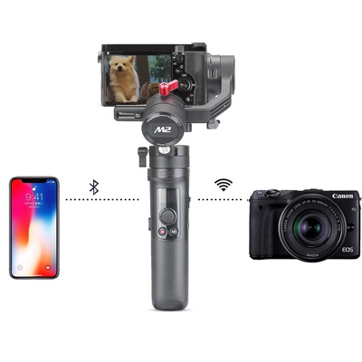 Zhiyun Crane-M2 3-Axis Handheld Gimbal Stabilizer for Mirrorless Cameras Smart Phone and Action Cam
