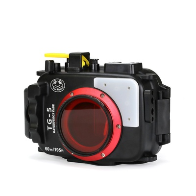 DF Seafrogs 60M Underwater Diving Waterproof Camera Case for Olympus TG5