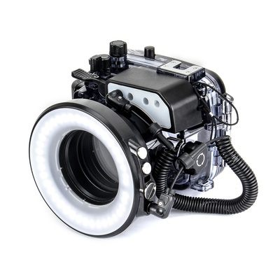 Seafrogs SL-108 Underwater Macro Ring Flash Light for Fujifilm X100F Waterproof Housing Case Underwater Diving Camera Fill Lighting