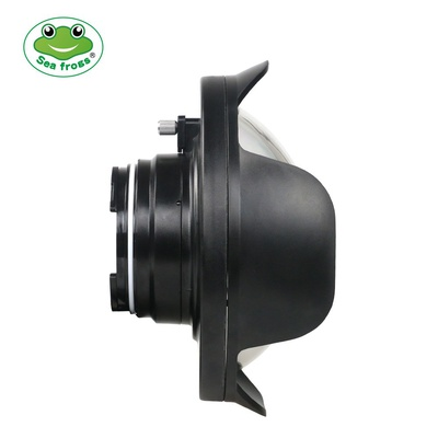 SeaFrogs WA-3 WA-005-C Wire Angle Dome Port for Canon EOS M5 22MM M5 18-55MM M6 22MM M6 18-55MM Lens